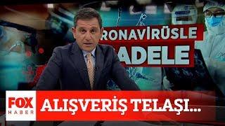 Alışveriş telaşı... 8 Mayıs 2020 Fatih Portakal ile FOX Ana Haber