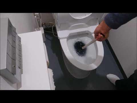 時 詰まっ トイレ が た