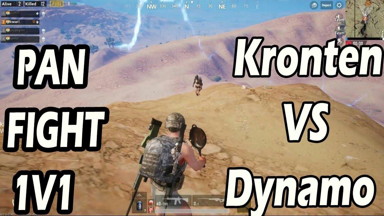 PUBG MOBILE : Kronten Gaming VS Dynamo Gaming Pan Fight | Best Funny Moment | PUBG India