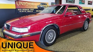 1989 Chrysler TC by Maserati | For Sale $9,900