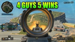4 Guys 5 Wins - Blackout With Stonemountain And Friends