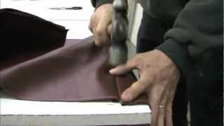 How to upholster a hot rod in leather part 1