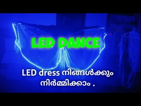 How To Make A LED Dress |How To Fix L LED Strip On Dress | Innovations Tech Lab