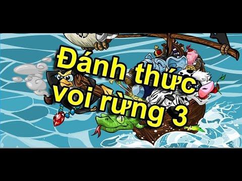 Video hướng dẫn chơi game Đánh thức voi rừng 3 – Game 24h