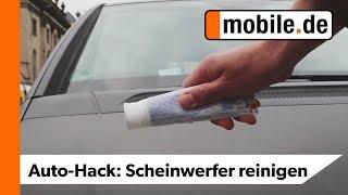Gambar cover DIY Scheinwerfer polieren mit Zahnpasta | mobile.de