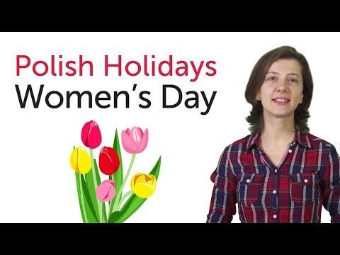 Polish Holidays - Women's Day