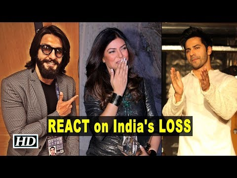 Ind v/s Pak: How celebs REACT on India's LOSS