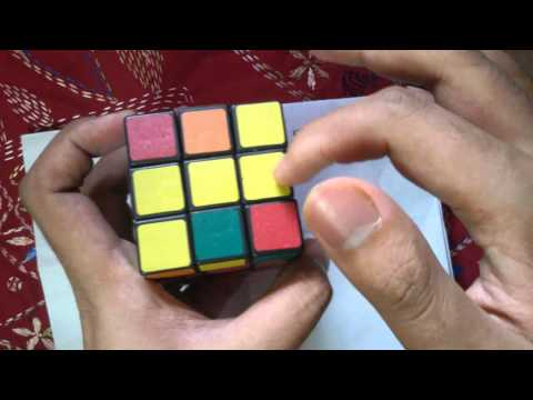 How To Solve A Rubik's Cube (Bengali Language) The Easiest Way