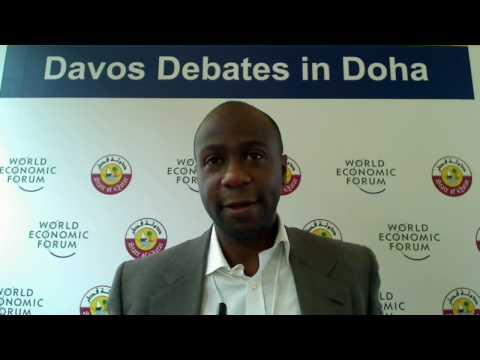 Ruben Atekpe - Davos Debates in Doha 2010