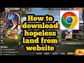 How to download hopeless land without play store  Hopless land ban Tamil Tech Kit YT