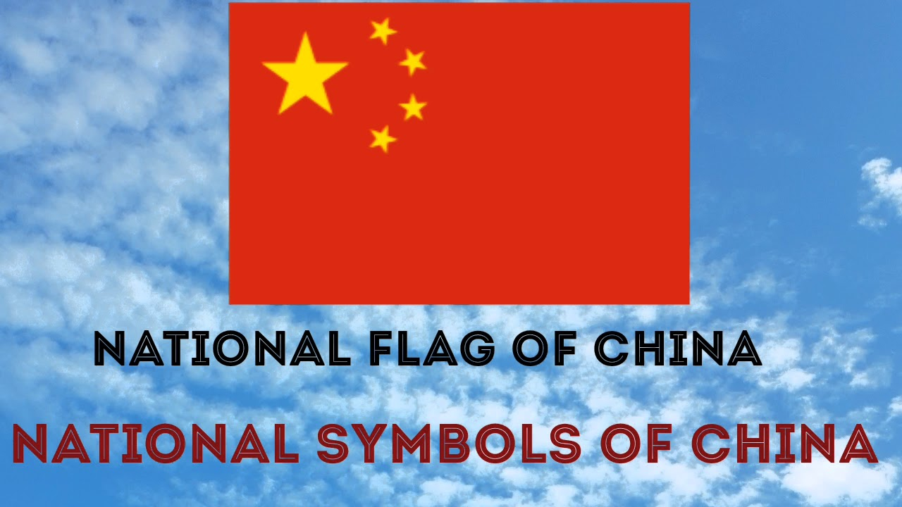National Symbols Of China China National Day Bird Animal Tree