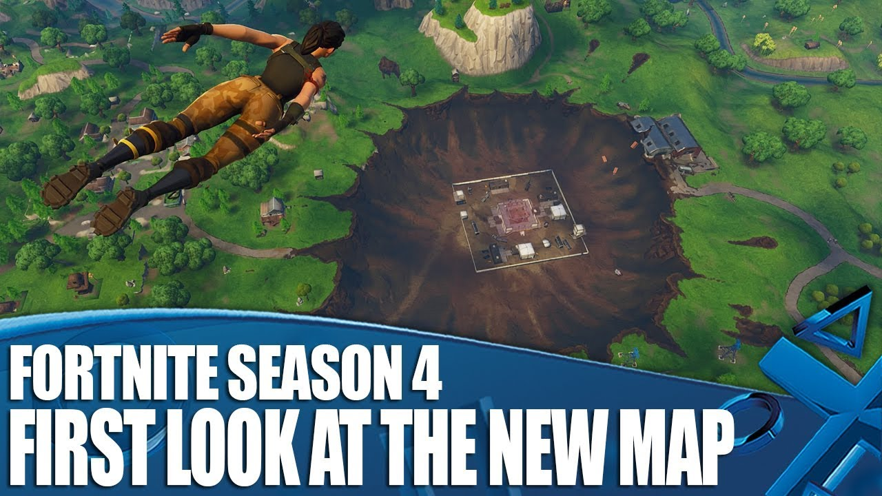 fortnite season 4 first look at the new map dusty divot - pictures of dusty divot fortnite