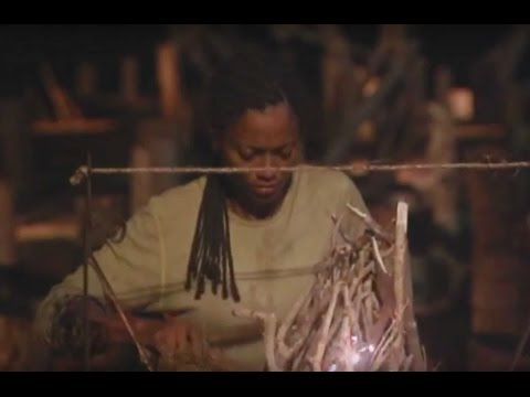 Survivor: Cook Islands - Sundra's Fire Challenge Elimination Part ...