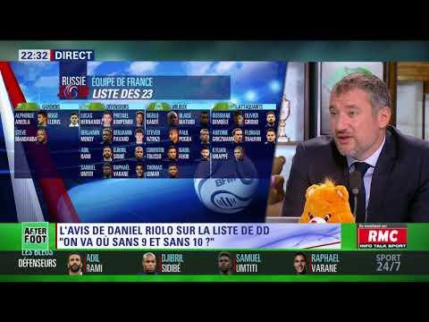 After Foot du jeudi 17/05 – Partie 2/6 - L'avis de Daniel Riolo sur la liste de Didier Deschamps