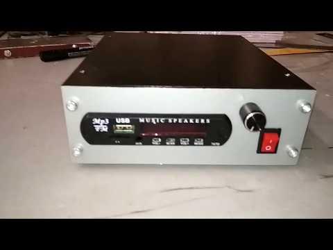 Усилитель на TDA2613 и USB Модуль