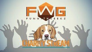 Fun With Geeks Charity Stream ???? | Kutyák és Zombik (Viktória, Sirius, Zsolti, Kaci)