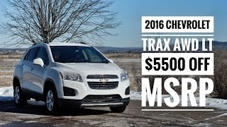 2016 Chevrolet Trax LT AWD Clearout | Pye Chevrolet Buick GMC