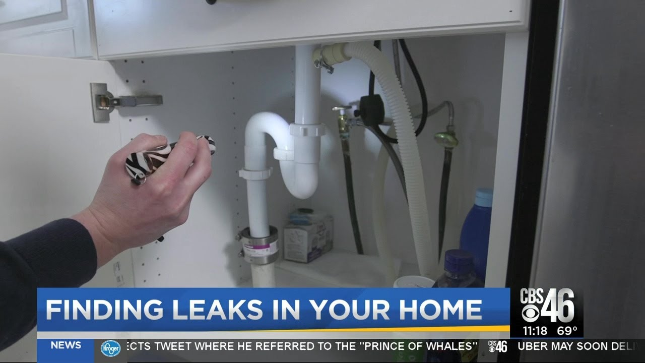 Finding leaks in your home
