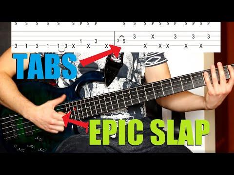 Bass guitar lick and riffs