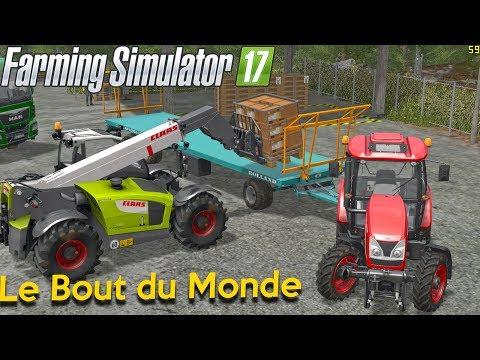 ON VA VENDRE DU LAIT ?!🐄 Le Bout du Monde   🚜Farming Simulator 17