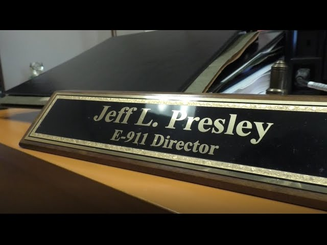 After 30 plus years working with E 9-11 services, Director Jeff Presley is retiring