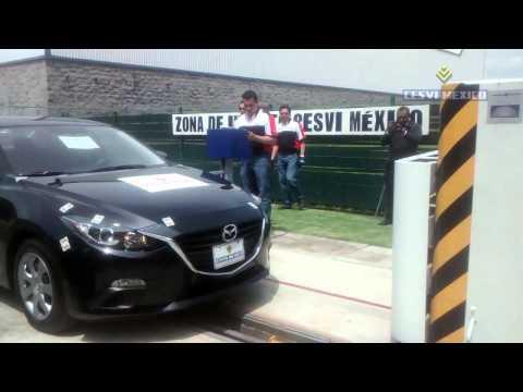 Low-Speed Crash Test 2014 Mazda Sedan