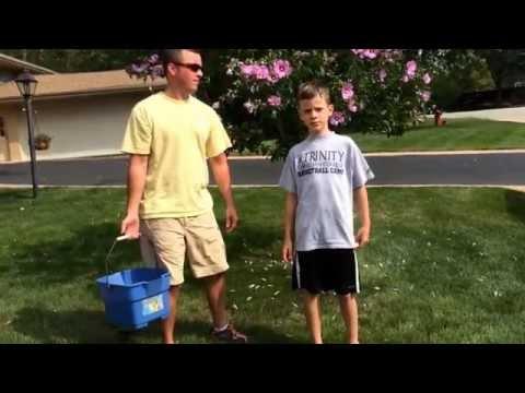Connor Olsen ice bucket challenge