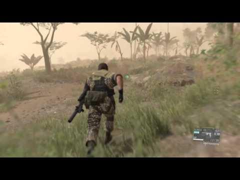 MGSV:TPP Neutralize the Sniper Skulls (Normal) CQC only
