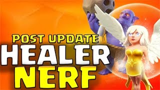 hghb aq walk th9 attack strategy after healer nerf update   clash of clans