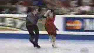 Angelika Krylova and Oleg Ovsiannikov 1998 Worlds FD