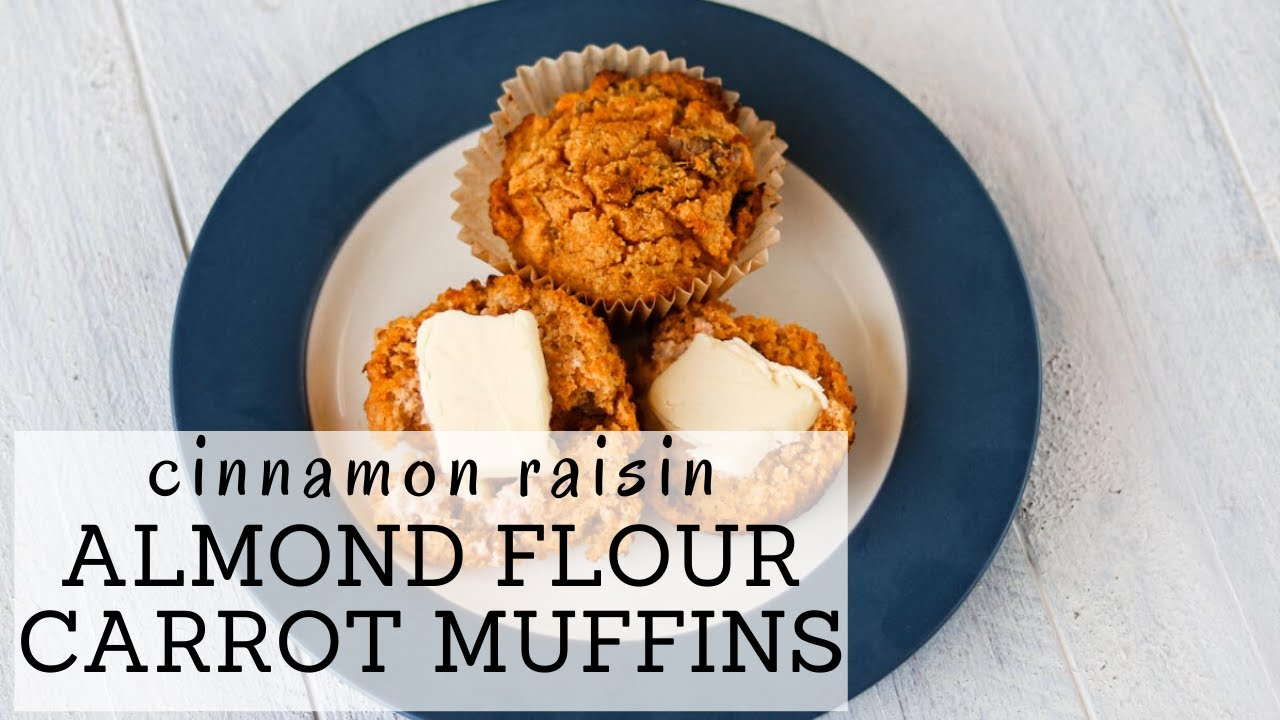Gaps Muffins Recipe Almond Flour | HEALTHY CARROT MUFFINS RECIPE | Bumblebee Apothecary