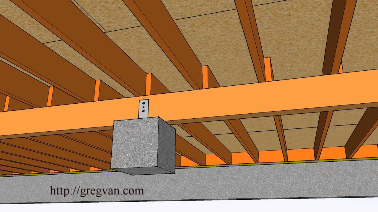 Three-Dimensional Examples of Wall Framing and Subfloor – Home ...