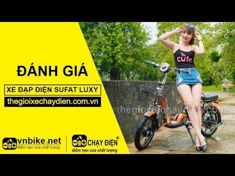 Đánh giá xe đạp điện Sufat Luxy
