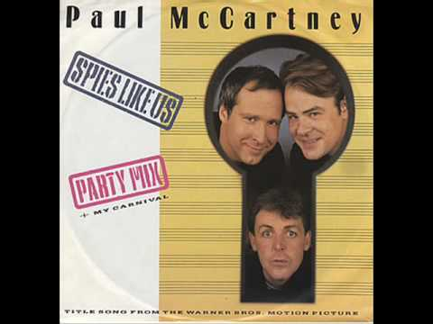 Paul McCartney - Spies Like Us (Party Mix)