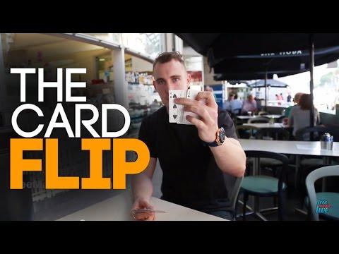 Free Magic Tricks Revealed: Free Card Tricks: The Card Flip!