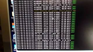 Gigabyte 1060 6gb G1 тест в майнинге на разных алгоритмах