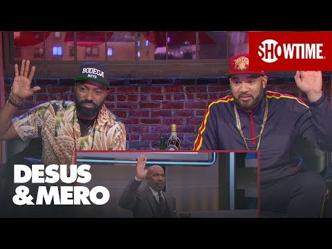 Stephen A. Smith & Steve Harvey Yellin' About Sleep & Joel Embiid | DESUS & MERO | SHOWTIME