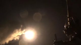 Impact of U.S. strikes on Syria air base