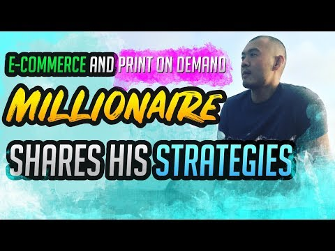 E-Commerce Millionaire Shares His Print On Demand Story And Strategies