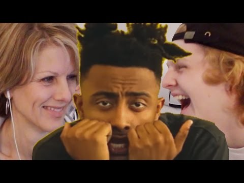 Mom reacts to Aminé @heyamine