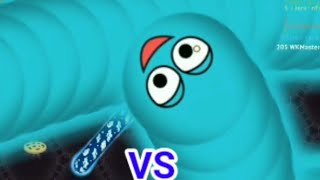 Wormate.io Fast Worm VS Slow Teaming Worm Premiere Epic/Amazing Gameplay