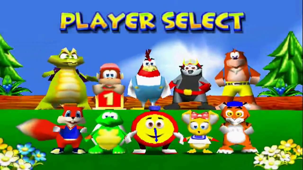 Resultado de imagen para Diddy Kong Racing