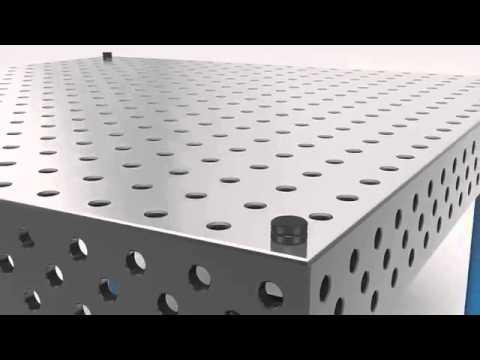 Siegmund сварочный стол с алюминиевым листом