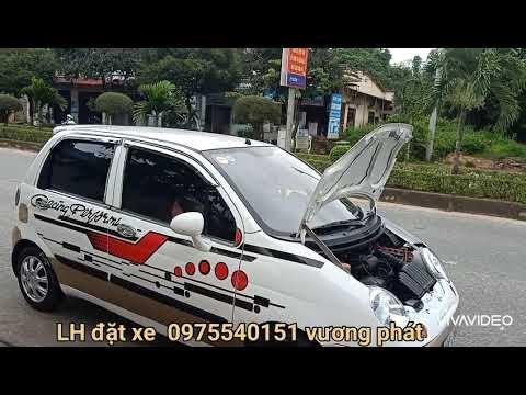 Matiz trắng đã đồng sơn điện cho khách tiền giang lh dặt xe 0975540151