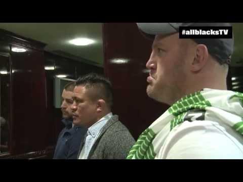 All Blacks Visit Celtic Football Club In Glasgow
