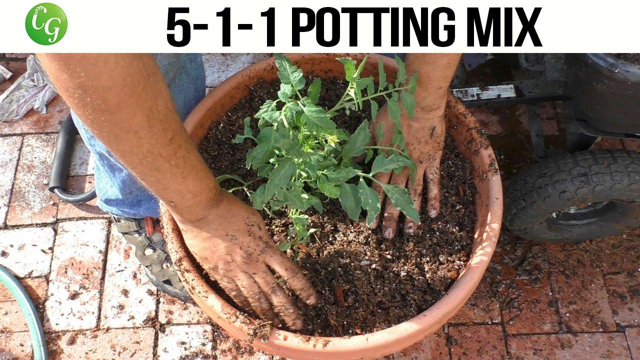 5 1 1 Potting Mix   High Porosity, Well Draining Mix   YouTube