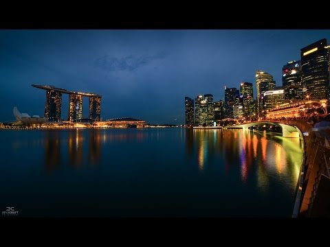 The Best Time lapse of Singapore in 4K (2017) | Mind Craft Productionz