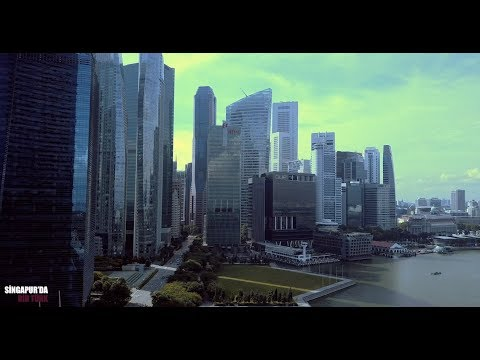 Marina Bay Sands Drone Çekimi [4K]