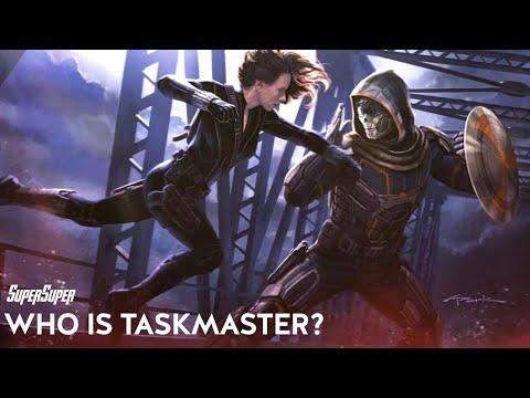 Who Is Taskmaster? Black Widow Movie Villain | SuperSuper