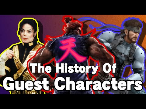 The History of Fighting Game Guest Characters | Be My Guest